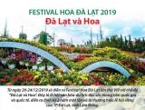 [Infographics] Festival Hoa Đà Lạt 2019: Nhiều chương trình hấp dẫn
