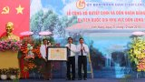 Long An: Đón nhận bằng di tích lịch sử Quốc gia Khu vực Đồn Long Khốt
