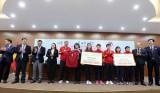 Bóng đá nữ Việt Nam được tiếp 100 tỉ đồng cho giấc mơ World Cup