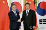 Lãnh đạo Hàn Quốc và Trung Quốc bắt đầu hội đàm tại Bắc Kinh
