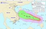 Bão Phanfone gây gió mạnh giật cấp 11 đang tiến vào Biển Đông