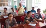 Đại biểu HĐND tỉnh tiếp xúc cử tri xã Bắc Hòa, huyện Tân Thạnh