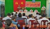 Đại biểu HĐND tỉnh Long An tiếp xúc cử tri huyện Vĩnh Hưng