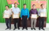 Tân Hưng, Thủ Thừa: Tổng kết phong trào CNVCLĐ và hoạt động Công đoàn năm 2019