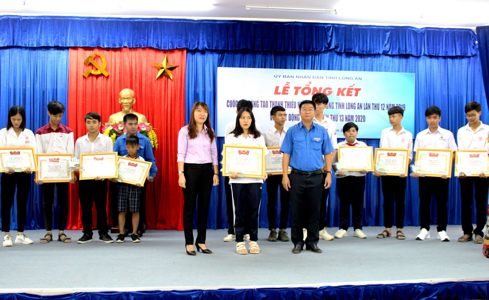 Prizes are awarded to the authors achieving high results in the contest