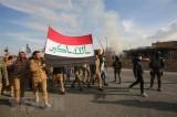 Người biểu tình rút khỏi Đại sứ quán Mỹ ở thủ đô Baghdad