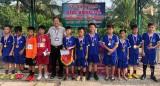 Thủ Thừa: Tổ chức Giải bóng đá mini Tiểu học 2020