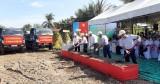 TP.Tân An: Khởi công xây dựng phần cầu đường Vành đai, xã Lợi Bình Nhơn