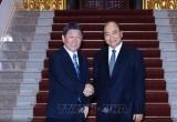 Thủ tướng Nguyễn Xuân Phúc tiếp Bộ trưởng Ngoại giao Nhật Bản