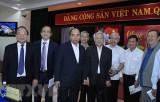 Thủ tướng Nguyễn Xuân Phúc gặp mặt cán bộ hưu trí miền Trung