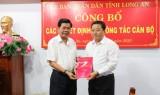 Bổ nhiệm ông Trần Văn Dũng giữ chức vụ Chánh Thanh tra tỉnh Long An