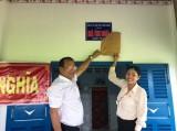 Công ty Điện lực Long An trao 4 căn nhà tình thương, tình nghĩa trên địa bàn huyện Tân Trụ và Thủ Thừa
