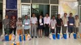 Thắng Lợi Group trao quà tết hộ nghèo và cận nghèo