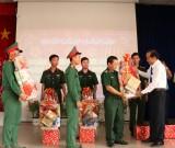 Lãnh đạo tỉnh Long An thăm, chúc tết các đơn vị lực lượng vũ trang tại Thạnh Hóa