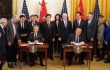 """Bắt đầu thảo luận về thỏa thuận thương mại Mỹ-Trung """"Giai đoạn 2"""""""