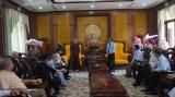 Đoàn đại biểu chức sắc, tôn giáo, dân tộc tỉnh chúc tết Tỉnh ủy, HĐND, UBND, MTTQVN tỉnh Long An