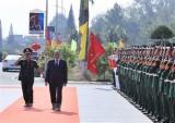 Thủ tướng Nguyễn Xuân Phúc thăm Trường Sỹ quan lục quân 2