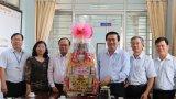 Bí thư Tỉnh ủy – Phạm Văn Rạnh thăm, chúc tết tại Trung tâm Công tác xã hội Long An