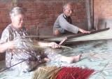 Làng nghề dệt chiếu Long Cang - Vượt khó để giữ nghề