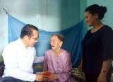 Phó Bí thư Thường trực Tỉnh ủy Long An – Nguyễn Văn Được thăm, chúc tết Mẹ Việt Nam Anh hùng