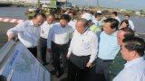 Phó Thủ tướng Thường trực Chính phủ - Trương Hòa Bình thăm Cảng Quốc tế Long An