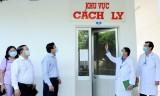 Lãnh đạo tỉnh Long An kiểm tra công tác ứng phó dịch bệnh do virus corona