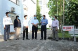 Kiểm tra công tác phòng, chống dịch bệnh do virus corona tại Thủ Thừa, Bến Lức