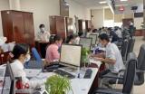 Trung tâm Phục vụ hành chính công Long An thực hiện các biện pháp phòng, chống dịch virus Corona