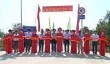 Nguyên Chủ tịch nước – Trương Tấn Sang dự lễ khánh thành cầu tại Đức Hòa