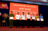 Tân Hưng tổng kết phong trào Toàn dân bảo vệ an ninh Tổ quốc năm 2019