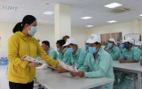 Thủ Thừa: Chủ động phòng, chống dịch Corona tại khu công nghiệp Hòa Bình