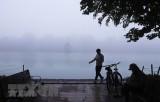 Bắc Bộ có mưa nhỏ và sương mù, chất lượng không khí phía Bắc xấu
