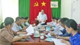 Kiến Tường: Kiểm tra công tác chuẩn bị Đại hội Đảng bộ cơ sở, nhiệm kỳ 2020 - 2025