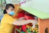 Cần Đước: Các trường sẵn sàng đón học sinh trở lại lớp
