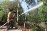 Kiểm tra phòng cháy chữa cháy rừng tại huyện Tân Hưng