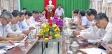 Chủ tịch UBND tỉnh Long An - Trần Văn Cần làm việc về đầu tư hạ tầng, tiếp nhận đầu tư Khu kinh tế Cửa khẩu