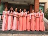 Long An: Phụ nữ mặc áo dài hưởng ứng chương trình 'Áo dài - Di sản văn hóa Việt Nam'