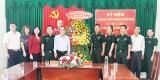 Thăm cán bộ, chiến sĩ nhân Ngày Truyền thống Bộ đội Biên phòng
