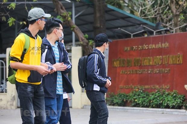 Đại học Quốc gia Hà Nội có 3 nhóm ngành được xếp hạng. (Ảnh: Minh Sơn/Vietnam+)