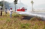 Cần Đước: Cháy khu dân cư ấp Nhà Thờ, xã Tân Lân