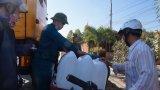 Dự kiến hỗ trợ 8.000m3 - 10.000m3 nước cho người dân Cần Giuộc trong mùa khô