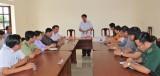 Chủ tịch UBND tỉnh Long An - Trần Văn Cần khảo sát Cửa khẩu Quốc tế Bình Hiệp và Khu cách ly tập trung