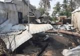 Hỏa hoạn bùng phát lúc rạng sáng thiêu rụi 6 căn nhà tại An Giang