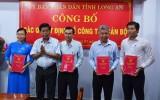 UBND tỉnh Long An bổ nhiệm lãnh đạo 4 sở