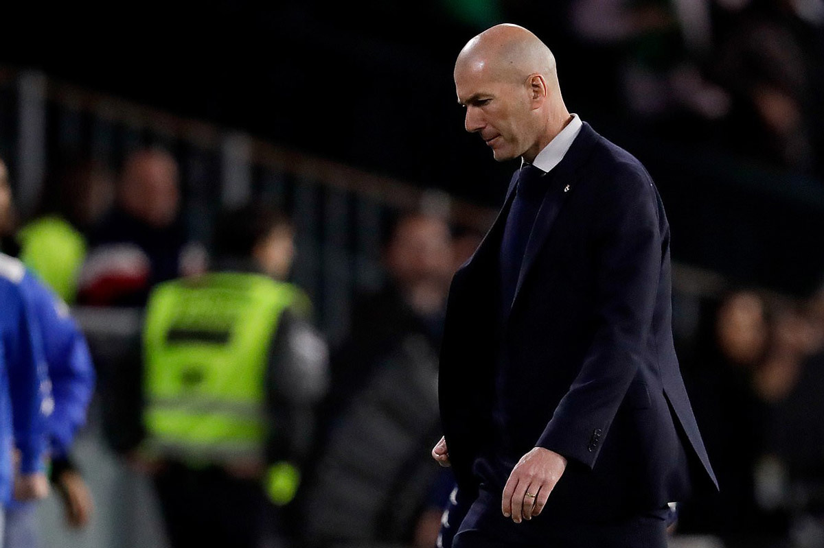 Zidane có thể bị Real Madrid sa thải