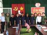 Long An: Ra mắt đội Dân phòng phòng, chống tội phạm KCN Thuận Đạo mở rộng
