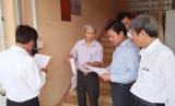 Phó Chủ tịch UBND tỉnh Long An – Phạm Tấn Hòa kiểm tra phòng, chống dịch Covid-19 tại Trường THPT Tân Trụ