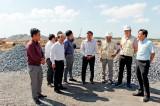 Khảo sát Dự án khu công nghiệp và cầu cảng Phước Đông