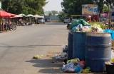 Ô nhiễm vì rác tại Khu tái định cư Tân Đức