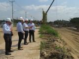 Phó Chủ tịch UBND tỉnh Long An - Nguyễn Văn Út kiểm tra tiến độ đầu tư Khu công nghiệp IDICO